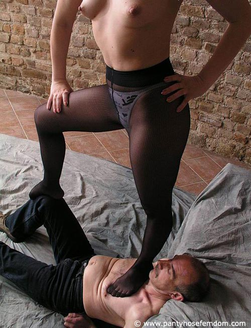 More Aggressive Pantyhose Fetishes 35