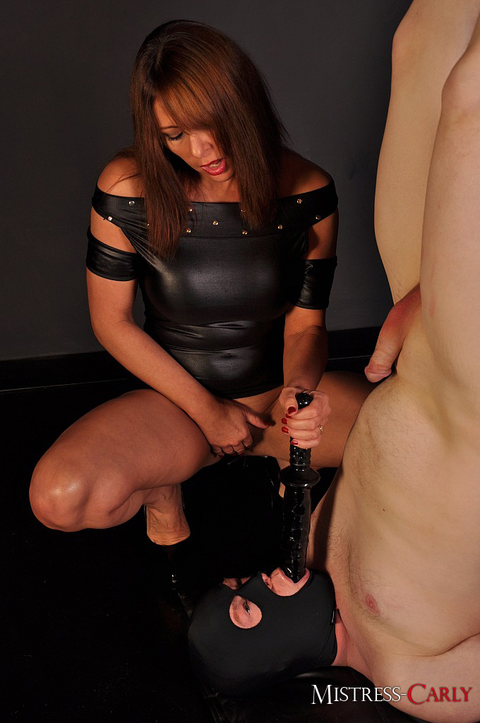 image Financial slave with dildo joi