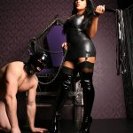 On Throne with victim