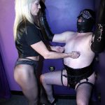 Sheer pantyhose mistresses sissy